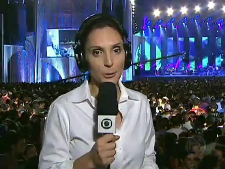 Evangélicos prestigia gravação do Festival Promessas/12 de música gospel da Globo