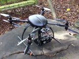 UAV DRONE - X8 XAircraft with Alware 3 axis stand (UAV DRONES) www.UAVDronesForSale.com