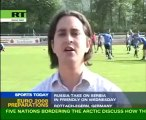 Euro-2008: Russia face Serbia in warm-up game