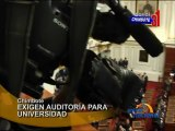 Chimbote Estudiantes de Universidad San Pedro pediran auditoría al Congreso de la Republica