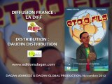 BD Samuel ETO'O fils t1: bande annonce et spot Eto'o, DAGAN Editions
