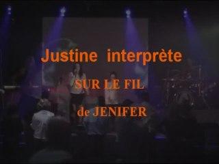 """Anthracite cover """"Sur le Fil""""de Jenifer orchestre vatiété Mariage 0324332310"""