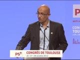 intervention de Pascal Joseph au congrès de Toulouse