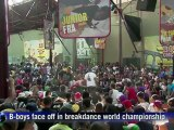 BBoys face off in breakdance world championship