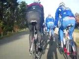 Sortie vélo avec les coureurs de la FDJ et les juniors de la U19 Racing Team