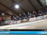 Finale Elites Dames 17e BMX Indoor de St-Etienne 2012
