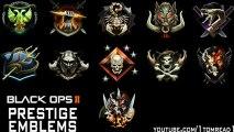 """Black Ops 2 - Prestige Emblems (""""Official Black Ops 2 Prestige Emblems"""" + """"Prestige Master"""")"""