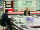 10/12 BFM : Le Grand Journal d'Hedwige Chevrillon - Henri Giscard d'Estaing et Nicole Bricq 2/4