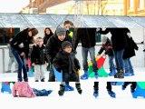 Une belle journée à la patinoire du marché de Noël de Douai par La Voix du Nord de Douai