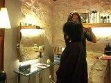 Le relooking coiffure de Fanny par Christophe-Nicolas Biot