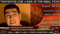Cleveland Cavaliers versus LA Lakers Pick Prediction NBA Pro Basketball Preview 12-11-2012