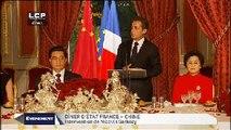 Évènements : Dîner d'Etat France-Chine
