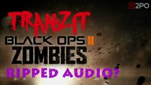 Tranzit Easter Egg/Breakdown Step 32: Progress and Ripped Audio Update [Black Ops 2 Zombies]