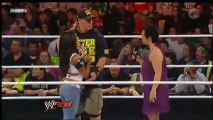 Catch Attack WWE Raw - Combats du 08/12/2012 (partie 1/2)