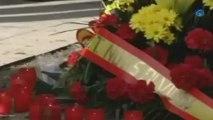 Emotivo homenaje a las víctimas de la Casa Cuartel de Zaragoza
