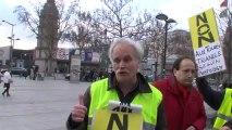 """Manifestation du """"Collectif contre la Tour Triangle"""" 08 12 2012 _ Didier Hervo Conseiller municipal """"les Verts"""" d'Issy les Moulineaux"""