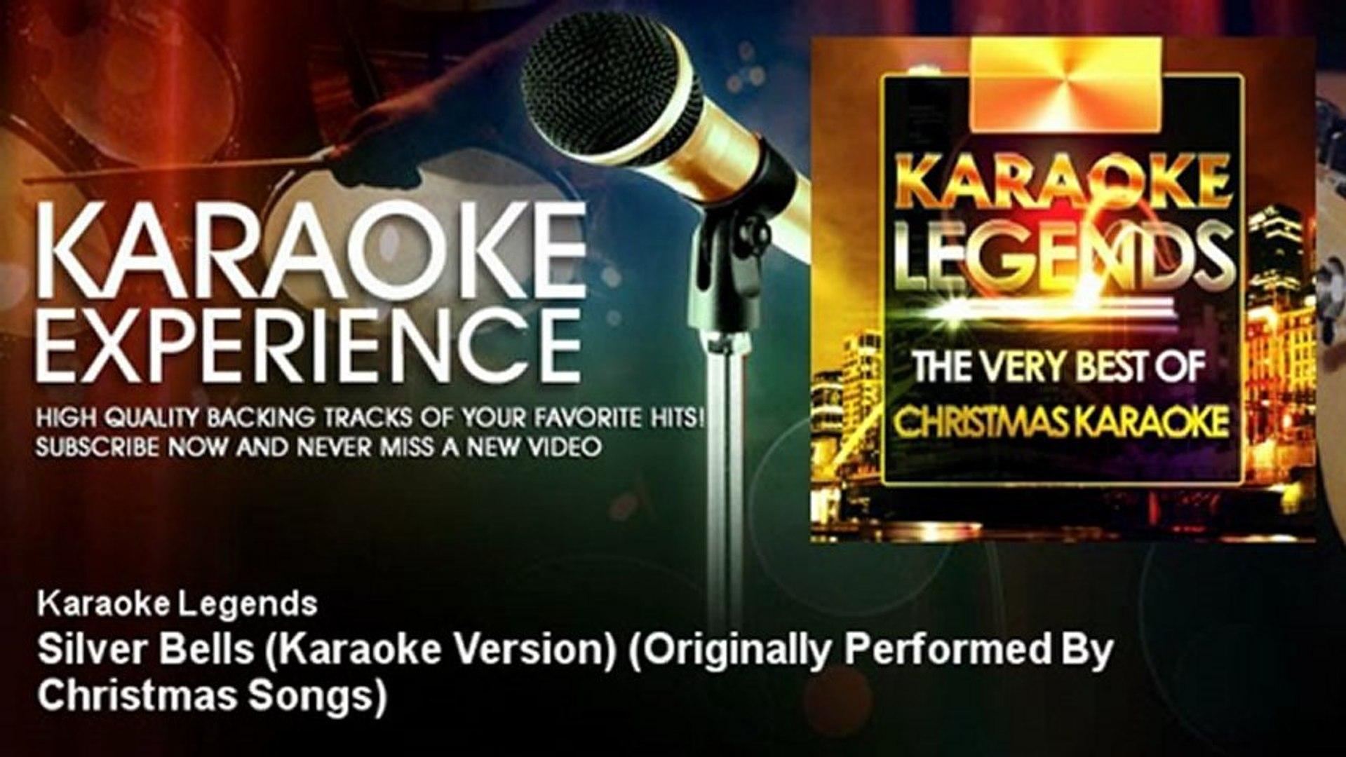 Karaoke Christmas Songs.Karaoke Legends Silver Bells Karaoke Version Originally Performed By Christmas Songs