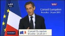 Évènements : Discours de Nicolas Sarkozy à l'OCDE