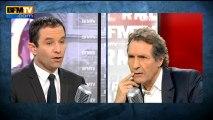 """Benoît Hamon """"ne demandera pas son autorisation à Lakshmi Mittal"""" pour nationaliser"""