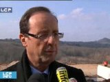 Reportages : Corrèze : François Hollande en campagne locale ...et nationale