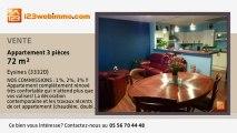 A vendre - appartement - Eysines (33320) - 3 pièces - 72m²