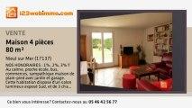 A vendre - maison - Nieul sur Mer (17137) - 4 pièces - 80m