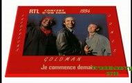 INEDIT- Fredericks/ Goldman/ Jones: je commence demain concert d'un soir rtl 1994