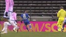 But Cédric BARBOSA (30ème) - Evian TG FC - ESTAC Troyes (2-0) - saison 2012/2013