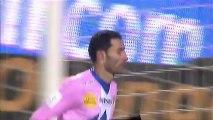 But Cédric BARBOSA (71ème) - Evian TG FC - ESTAC Troyes (2-0) - saison 2012/2013