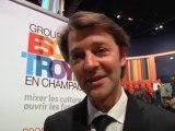 Conférence de François Baroin aux étudiants au Groupe ESC Troyes