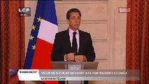 Évènements : Vœux de Nicolas Sarkozy aux partenaires sociaux