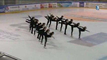 patinage synchronisé : en route pour les championnats de France !
