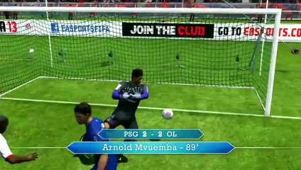 Pronos L1 - PSG - OL de FIFA 13