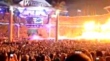 WWE WrestleMania 28 End of an Era Match Entrances - Shawn Micheals, The Undertaker, Triple H
