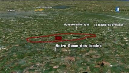 Google map site Notre-Dame-des-Landes