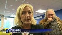 Marine Le Pen tire le bilan de 6 mois de présidence Hollande