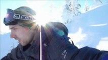 Ski rando caméra embarquée