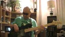 Last Christmas Wham George Michael basscover Bob Roha