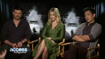 Karl Urban, Alice Eve & John Cho Discuss The Action In Star Trek Into Darkness