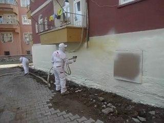 Kırıkkale Sprey Poliüretan Temel İzolasyonu Uygulaması