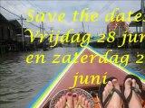 Save the date vrijdag 28 juni en zaterdag 29 juni