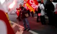 MANIF / LILLE DEVANT LE MEDEF 13 DECEMBRE 2012  APPEL CGT NORD PAS DE CALAIS /