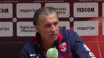 Conférence de presse AS Monaco FC - Nîmes Olympique : Claudio RANIERI (ASM) - Victor ZVUNKA (NIMES) - saison 2012/2013