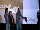avec Omar Sy avant première de l'autre côté du périph.13.12.2012Modifier le titre ici
