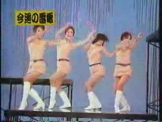 Japan girls miniskirts dance - 1967
