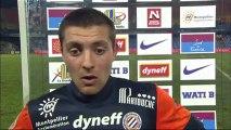 Interview de fin de match : Montpellier Hérault SC - SC Bastia - saison 2012/2013