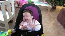 Rires Bérénice 4 mois