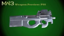 Guns - P90 (Weapons previews Part 2)