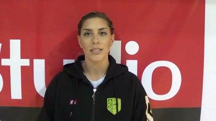 ΑΕΚ Λάρνακας - Άντρεα Χαραλάμπους  για τον αγώνα βόλεϊ με Απόλλωνα