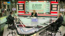 14/12 BFM : Le Grand Journal d'Hedwige Chevrillon - Jean-Hervé Lorenzi et Dominique Reynié 1/4